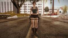 Well Armed Lara Croft для GTA San Andreas