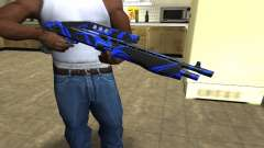 Blue Lines Combat Shotgun