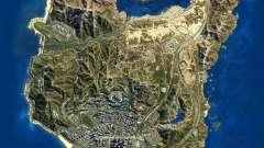 Спутниковая карта в 2K