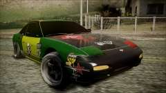 Nissan 240SX Pro Street для GTA San Andreas