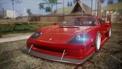 Turismo F40 для GTA San Andreas