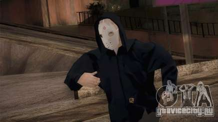 Наёмник мафии в капюшоне и в маске для GTA San Andreas
