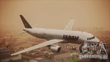 Airbus A320 TAROM Romania для GTA San Andreas