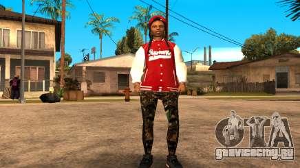Army Girl для GTA San Andreas