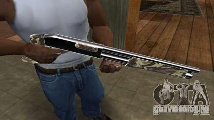 Militarry Shotgun для GTA San Andreas