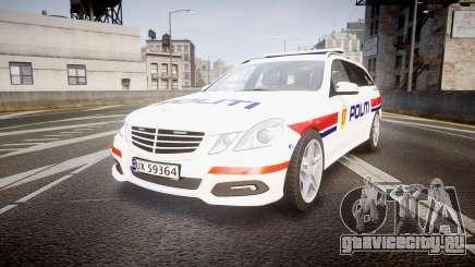Mercedes-Benz E63 AMG Estate 2012 Police [ELS] для GTA 4