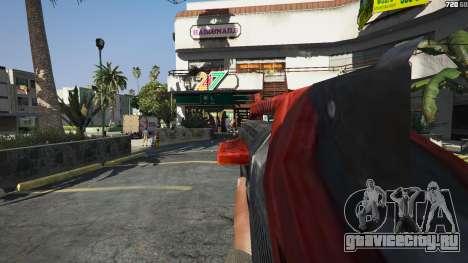 M-76 Revenant из Mass Effect 2 для GTA 5 четвертый скриншот