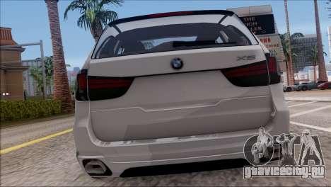BMW X5 F15 BUFG Edition для GTA San Andreas вид справа