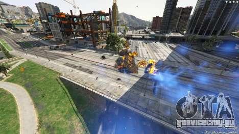 UFO Mod 1.1 для GTA 5 пятый скриншот
