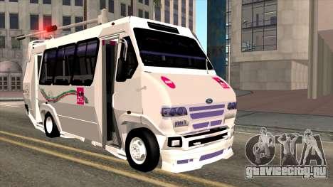 Ford Prisma IV Microbus для GTA San Andreas
