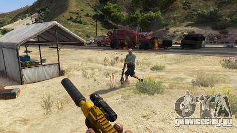 Восстание горожан (Режим Хаоса) 0.6.1 для GTA 5 восьмой скриншот