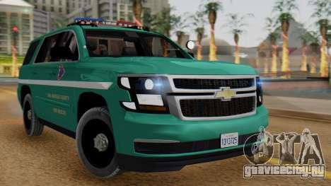 SACFR 2015 Tahoe v1 для GTA San Andreas