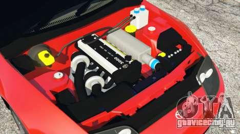 Toyota Supra RZ 1998 для GTA 5 руль и приборная панель