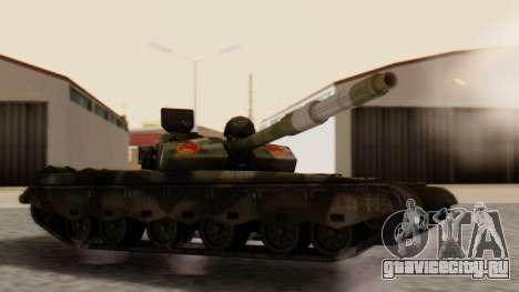 Type 99 для GTA San Andreas вид слева
