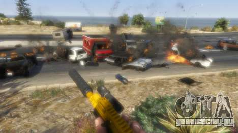 Восстание горожан (Режим Хаоса) 0.6.1 для GTA 5 седьмой скриншот