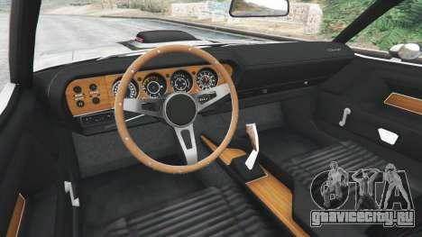 Dodge Challenger RT 440 1970 v0.8 [Beta] для GTA 5 вид сзади справа