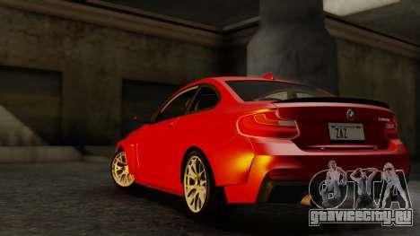 BMW M235i F22 Sport 2014 для GTA San Andreas вид справа