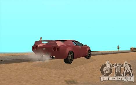 GTA VC Infernus SA Style для GTA San Andreas вид справа