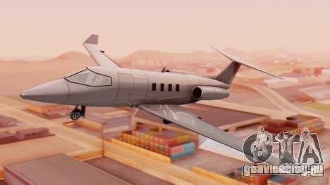 Двухместный Shamal v1.0 для GTA San Andreas
