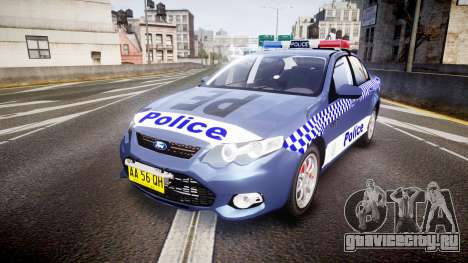 Ford Falcon FG XR6 Turbo NSW Police [ELS] для GTA 4