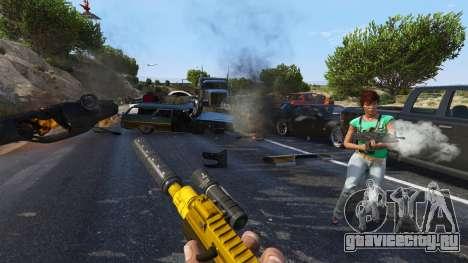Восстание горожан (Режим Хаоса) 0.6.1 для GTA 5 четвертый скриншот