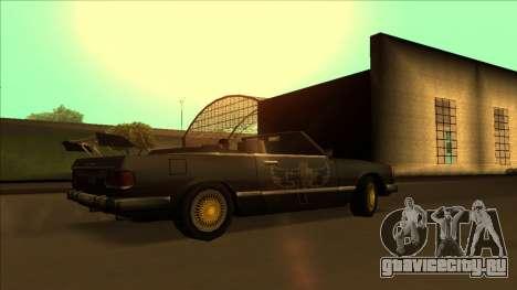 FreeShow Feltzer для GTA San Andreas вид снизу