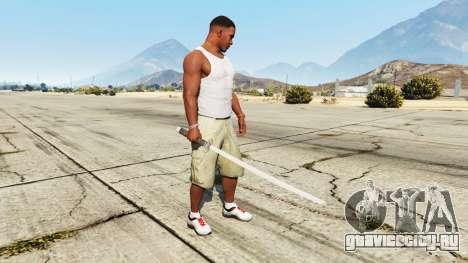Катана для GTA 5 второй скриншот