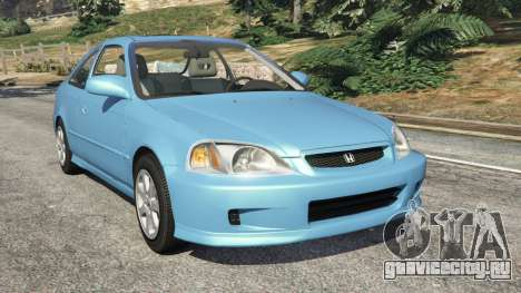Honda Civic Si 1999 v1.1 для GTA 5
