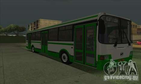 ЛиАЗ 5293.00 для GTA San Andreas вид слева