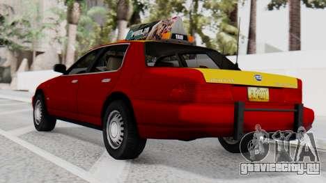 Dolton Broadwing Taxi для GTA San Andreas вид слева