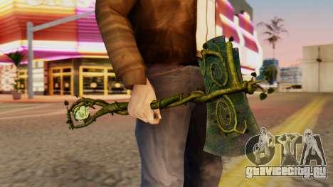 Nature Axe для GTA San Andreas третий скриншот