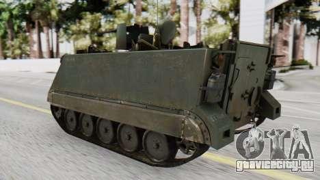 M113 from CoD BO2 для GTA San Andreas вид слева