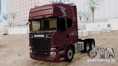 Scania R для GTA San Andreas