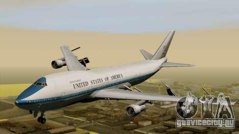 Boeing 747 E-4B для GTA San Andreas