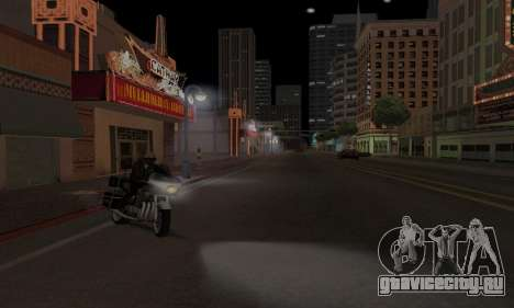 Lamppost Lights v3.0 для GTA San Andreas четвёртый скриншот