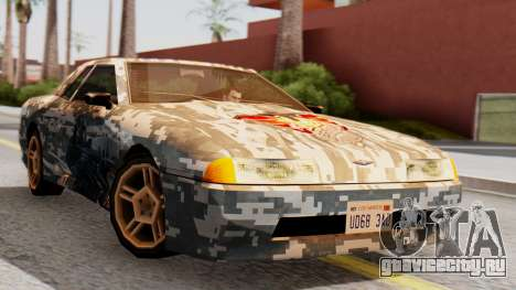Elegy Contract Wars U.S.E.C Vinyl для GTA San Andreas