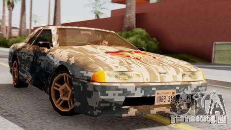 Elegy Contract Wars U.S.E.C Vinyl для GTA San Andreas