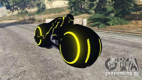 Tron Bike yellow для GTA 5