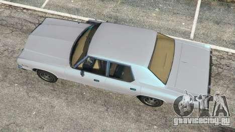 Dodge Monaco 1974 [Beta] для GTA 5 вид сзади