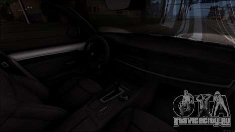 BMW X5 F15 BUFG Edition для GTA San Andreas вид сверху