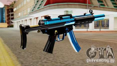 Fulmicotone MP5 для GTA San Andreas второй скриншот