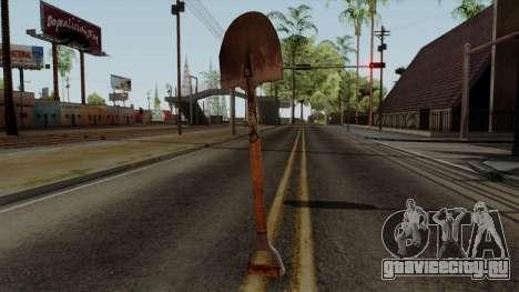 Original HD Shovel для GTA San Andreas второй скриншот