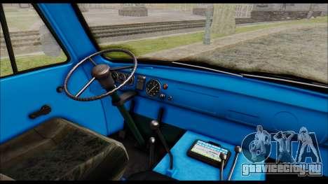 УАЗ 2206 для GTA San Andreas вид справа