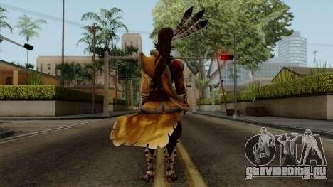 Sengoku Basara 3 - Maeda Keiji для GTA San Andreas третий скриншот