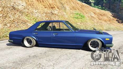Nissan Skyline 2000 GT-R 1970 v0.2 [Beta] для GTA 5 вид слева