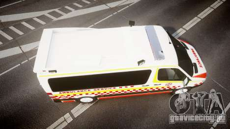 Mercedes-Benz Sprinter NSW Ambulance [ELS] для GTA 4 вид справа