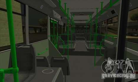 ЛиАЗ 5293.00 для GTA San Andreas вид сзади слева