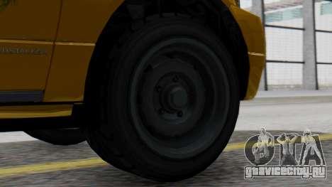 Vapid Landstalker Taxi SR 4 Style для GTA San Andreas вид сзади слева