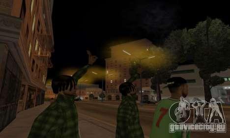 Lamppost Lights v3.0 для GTA San Andreas пятый скриншот