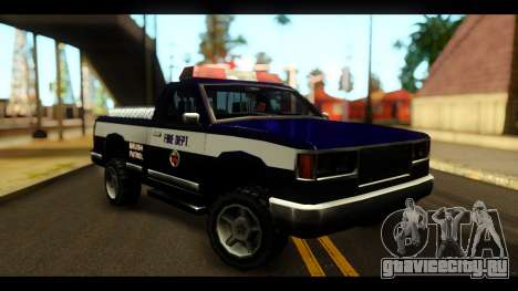 FDSA Brush Patrol Car для GTA San Andreas